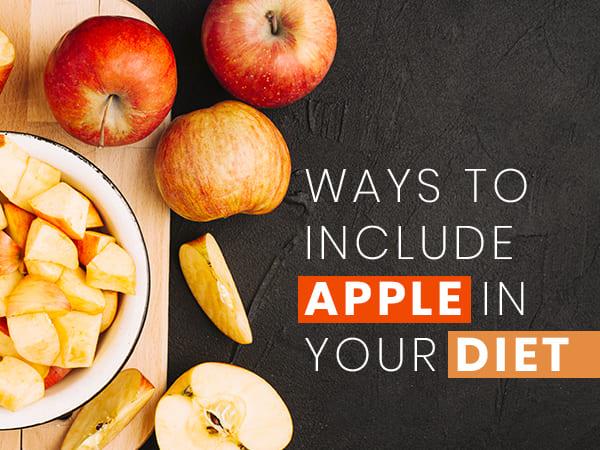 7 طرق اتضمين التفاح لنظامك الغذائى