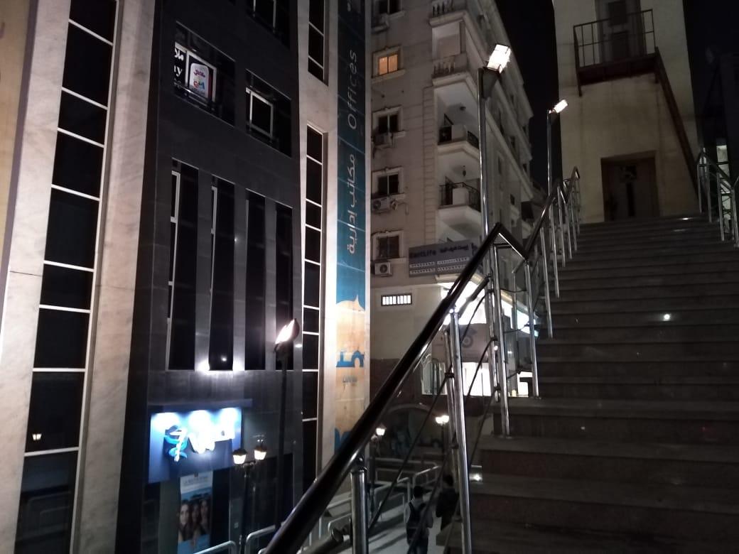 عطل المصعد بكوبرى مشاه منذ اكثر من سنة بالجيزه