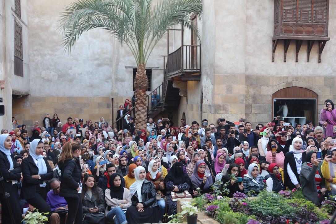 جانب من حفل تكريم الشباب بمركز زاهى حواس (2)