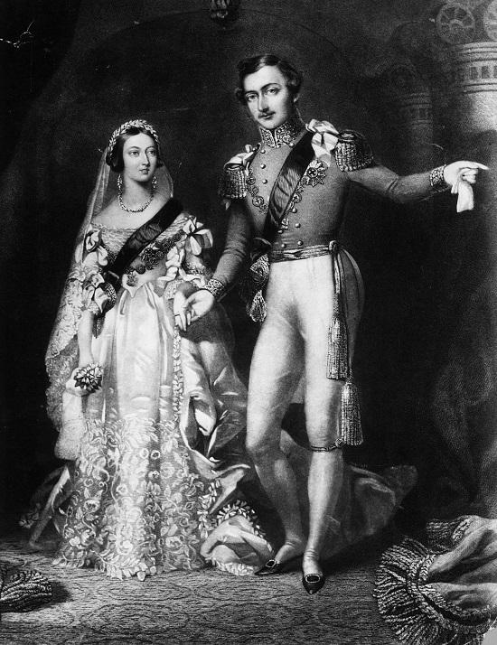 الملكة فيكتوريا والأمير ألبرت