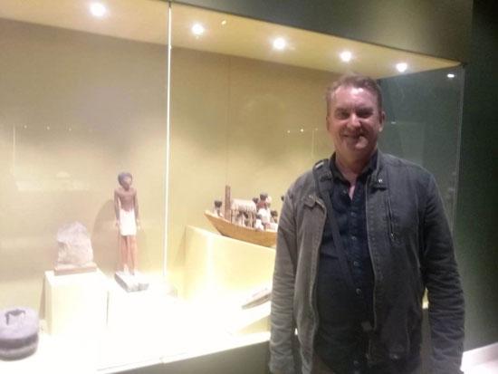 وفود أجنبية تزور متحفا سوهاج ورشيد (3)