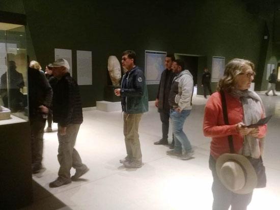 وفود أجنبية تزور متحفا سوهاج ورشيد (1)