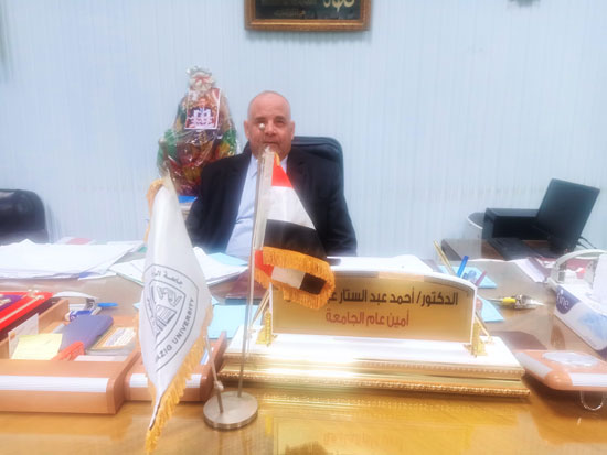 أحمد عبدالستار - أمين عام الجامعة