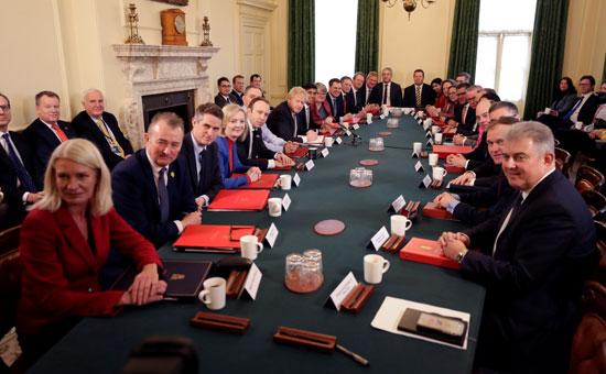 اجتماع رئاسة الوزراء البريطانية