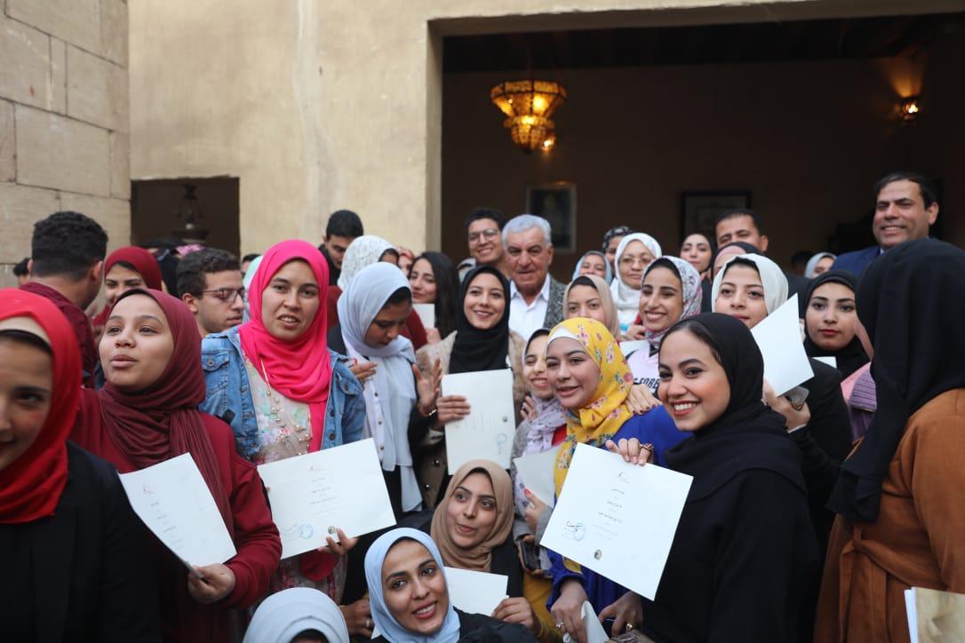 جانب من حفل تكريم الشباب بمركز زاهى حواس (4)