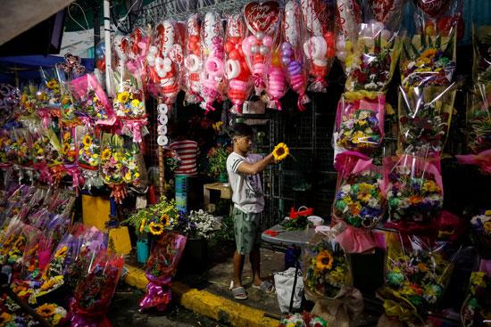 تجار الزهور فى الفلبيين