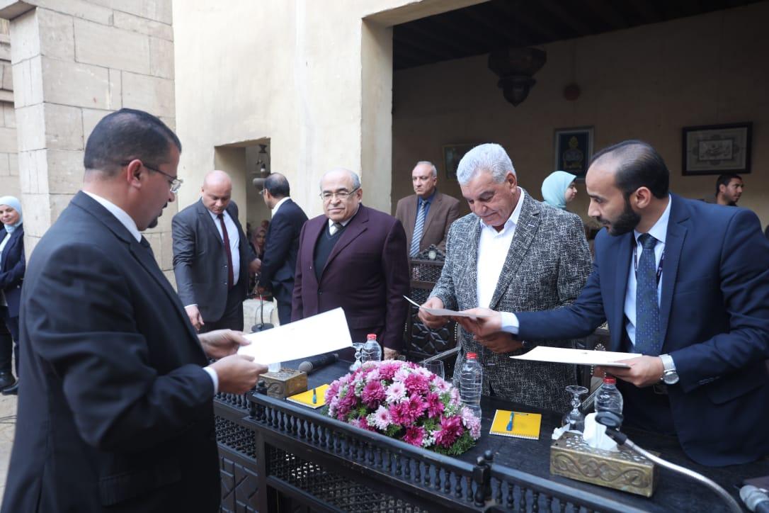 جانب من حفل تكريم الشباب بمركز زاهى حواس (3)