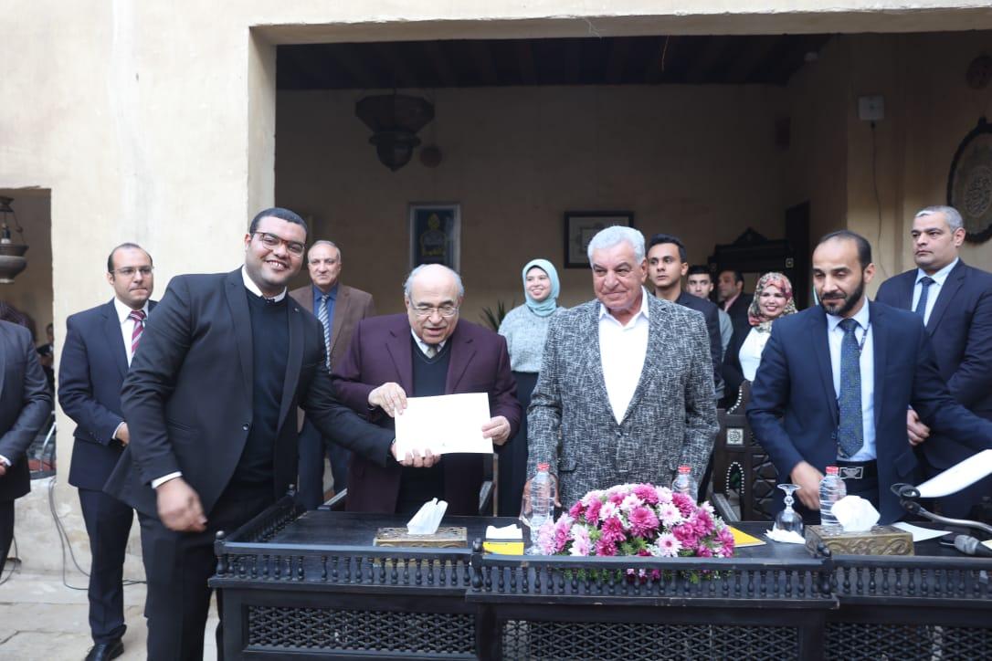 جانب من حفل تكريم الشباب بمركز زاهى حواس (5)