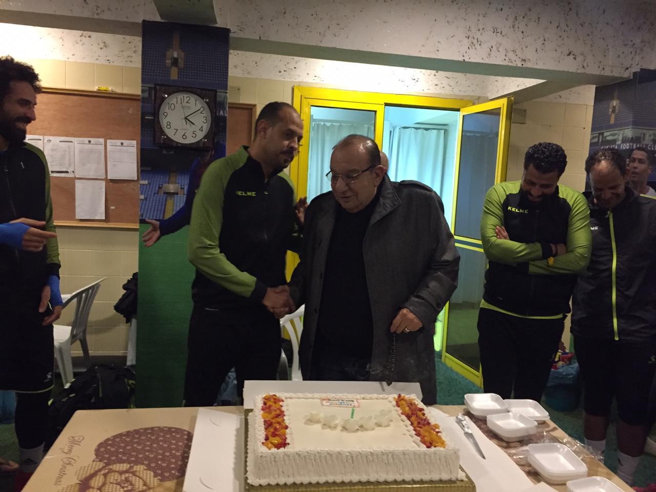 المقاولو العرب يحتفل بعيد ميلاد عماد النحاس  (1)