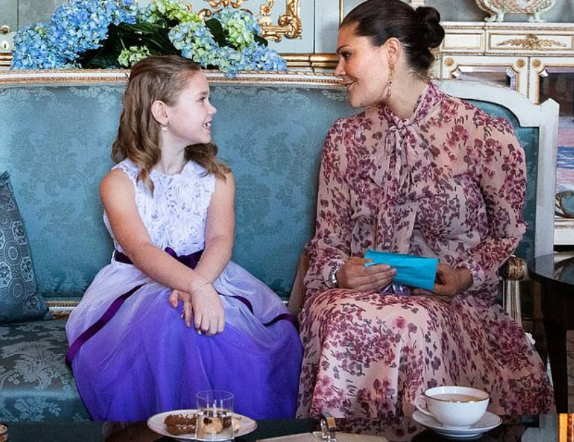 الأميرة فيكتوريا وأميليا