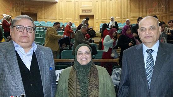 د-طارق-عكاشة-مع-الدكتورة-منن-عبد-المقصور