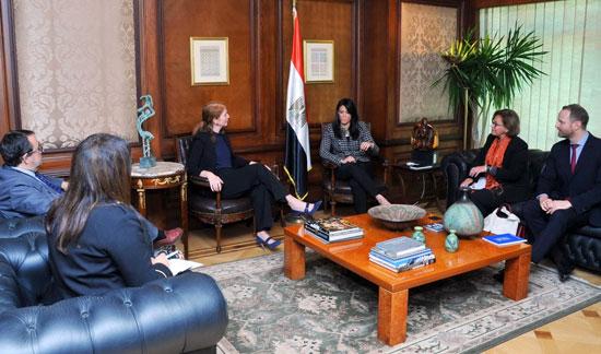 وزيرة التعاون الدولى تبحث تعميق الشراكة مع برنامج الأمم المتحدة الإنمائى  (3)