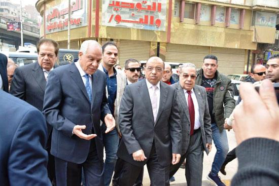 اللواء محمود شعراوى وزير المحلية (1)