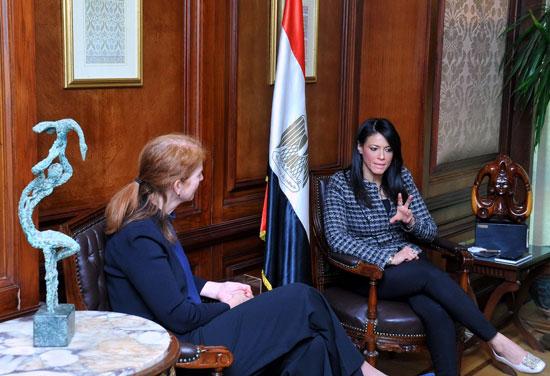 وزيرة التعاون الدولى تبحث تعميق الشراكة مع برنامج الأمم المتحدة الإنمائى  (2)