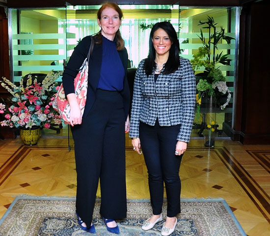 وزيرة التعاون الدولى تبحث تعميق الشراكة مع برنامج الأمم المتحدة الإنمائى  (4)