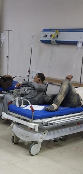 تفاصيل حادث مصرع شخصين وإصابة 9 آخرين في إنقلاب ميكروباص (3)