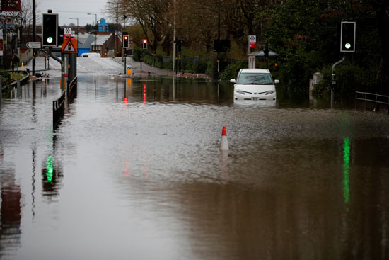فيضانات فى دنيس
