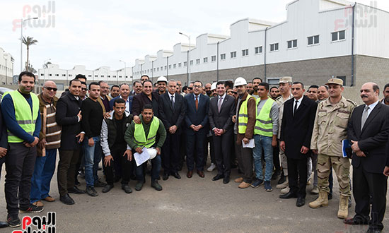 رئيس الوزراء يتفقد المنطقة الاستثمارية ببنها (22)