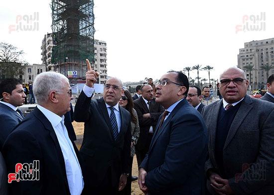 رئيس الحكومه بميدان التحرير