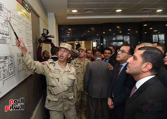 رئيس الوزراء يتفقد المنطقة الاستثمارية ببنها (8)