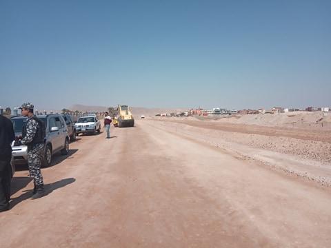 جانب من جولة محافظ جنوب سيناء (5)