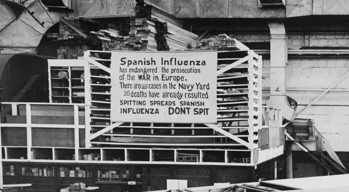 اخشاب النعوش فى انفلونزا الاسبانية