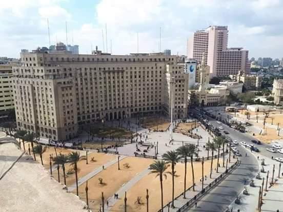 اعمال التطوير بميدان التحرير (4)