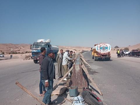 جانب من جولة محافظ جنوب سيناء (1)