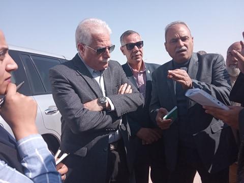 جانب من جولة محافظ جنوب سيناء (4)