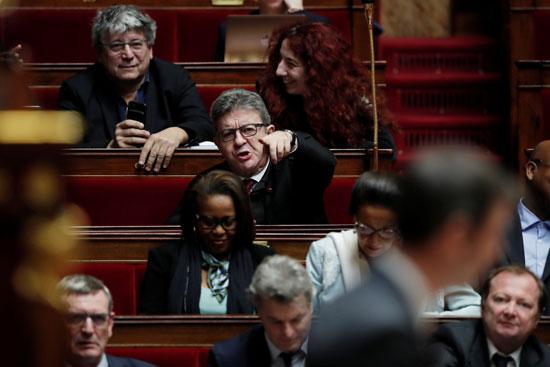 افتتاح نقاش حول مشروع قانون إصلاح معاشات الحكومة الفرنسية في الجمعية الوطنية في باريس