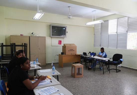 لجنة انتخابية فى الدومينيكان