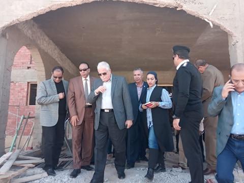 جانب من جولة محافظ جنوب سيناء (3)