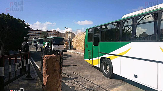 إجلاء 617 شخصاً من الحجر الصحى بمطروح بعد تأكد خلوهم من كورونا