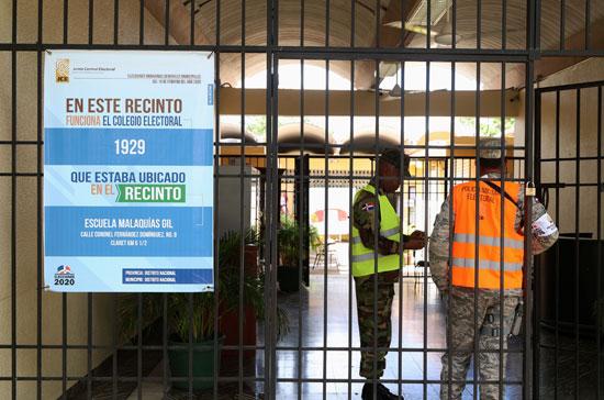 قوات الأمن فى الدومينيكان