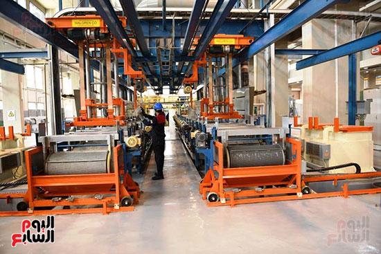 معدات وذخائر فى مشروعات جديدة افتتحها السيسي (9)