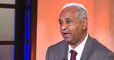 وزير الثقافة والإعلام السودانى الناطق باسم الحكومة فيصل محمد صالح