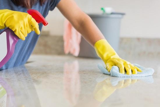 خطوات تنظيف المطبخ