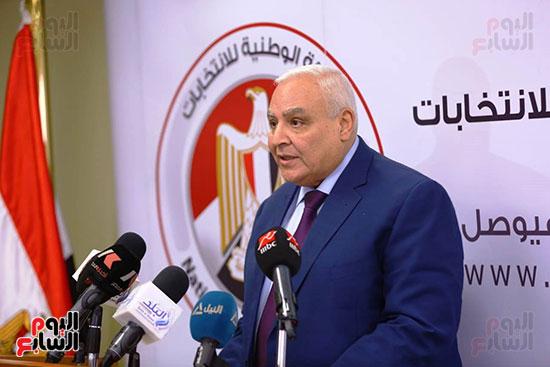 المستشار لاشين إبراهيم رئيس الهيئة الوطنية للانتخابات (8)
