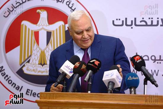 المستشار لاشين إبراهيم رئيس الهيئة الوطنية للانتخابات (9)