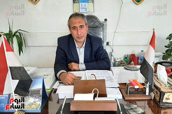 المهندس علي لاشين، مدير عام الزراعة  بمديرية الزراعة بمحافظة الشرقية (3)