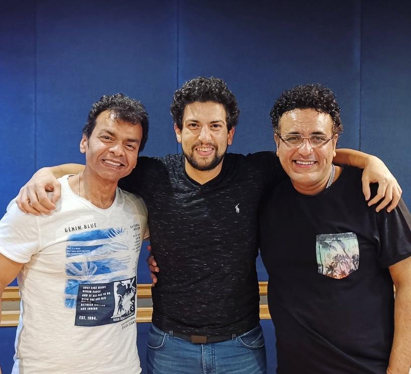 محمد رحيم ومحمد محيى وأحمد روكيت