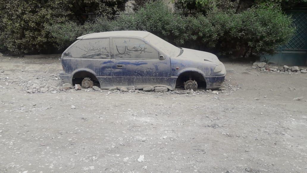 سيارات مركونة