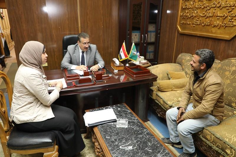 لقاء محافظ المنوفية مع المواطنين (2)