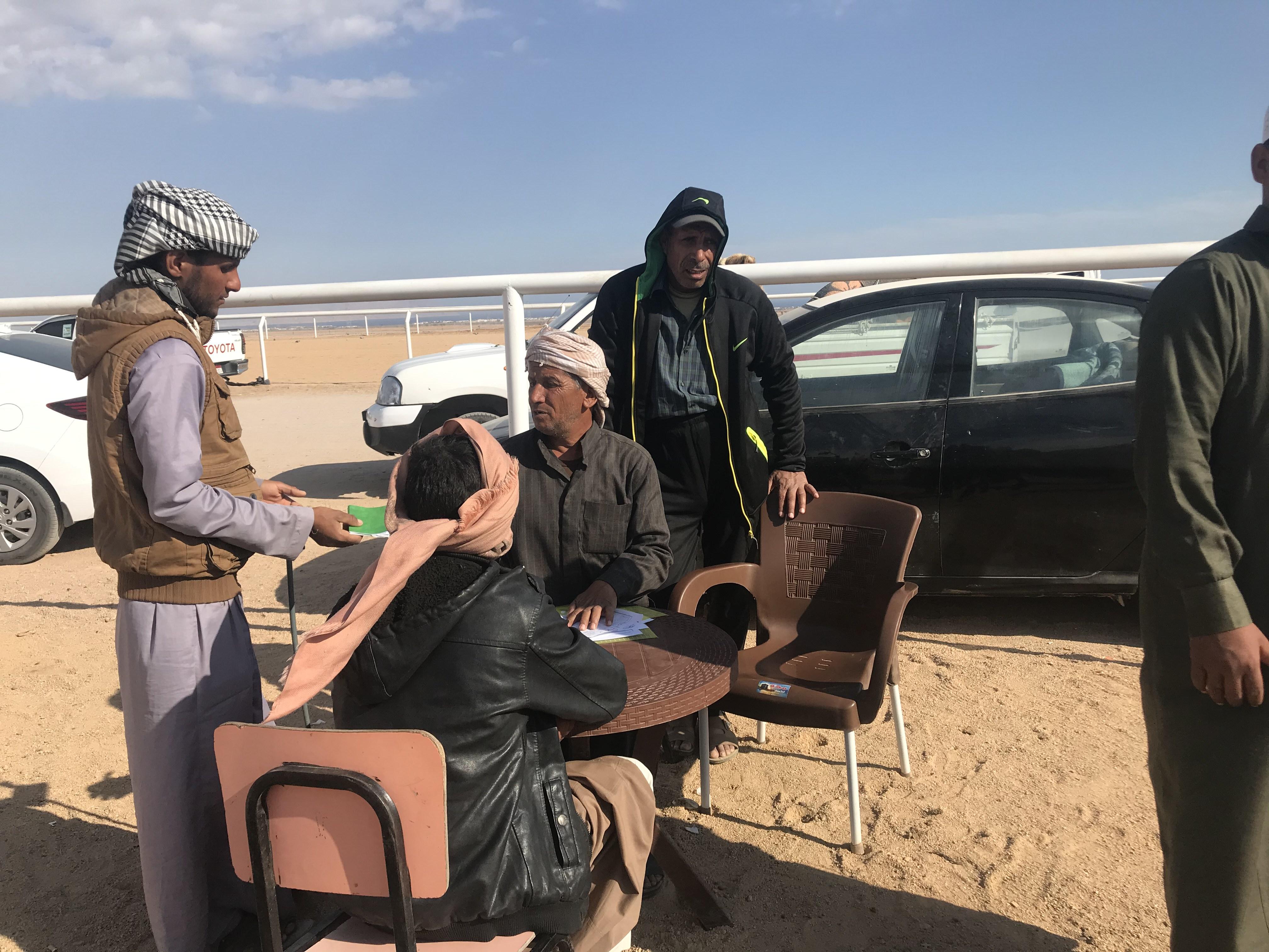 جانب من الاستعدادات لسباق الهجن بشرم الشيخ (1)