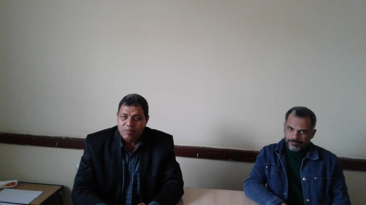 هشام إمام مدير مدرسة الفاروق الثانوية بنين بمدينة السادات بمحافظةالمنوفية (3)