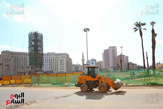ميدان التحرير خطوة على الافتتاح (24)