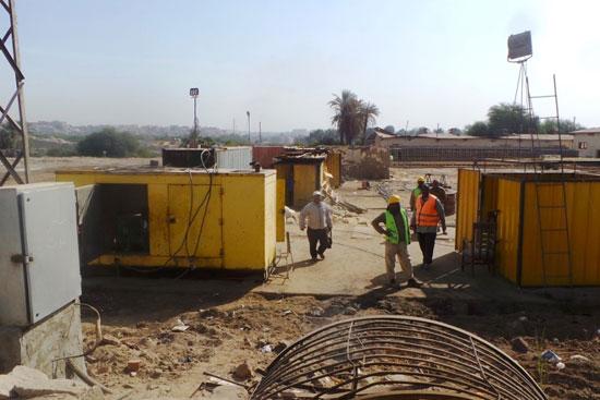 جولة داخل مشروعات محاور النيل الجديدة بأسوان (10)