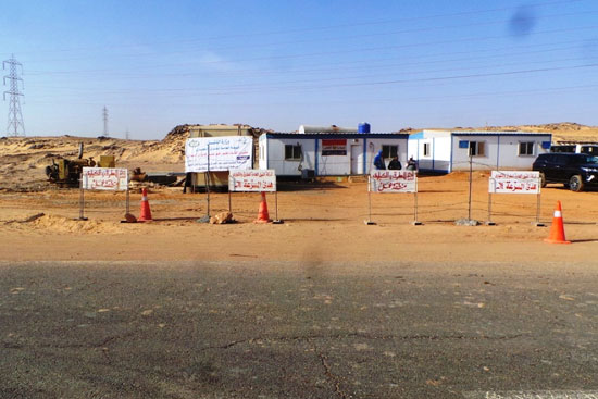 جولة داخل مشروعات محاور النيل الجديدة بأسوان (5)