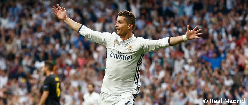 كريستيانو صنع تاريخا مع ريال مدريد