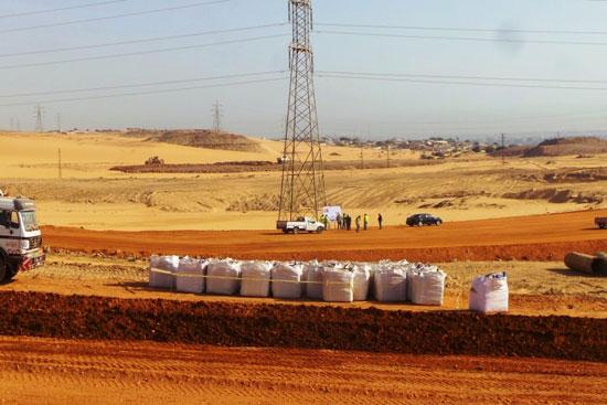 جولة داخل مشروعات محاور النيل الجديدة بأسوان (6)
